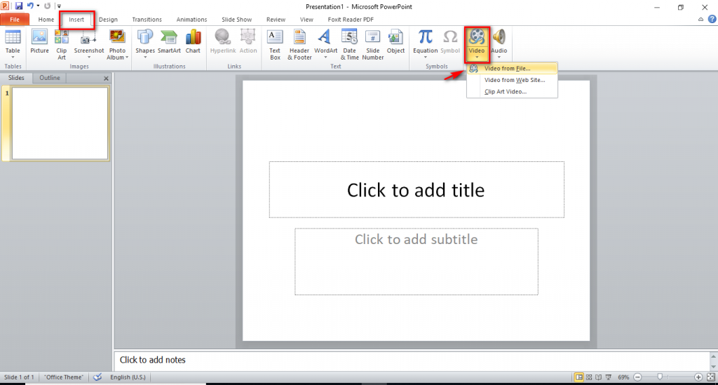 Cách download âm thanh trong PowerPoint