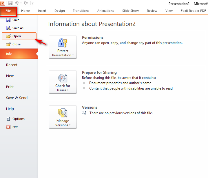 Chuyển file Word sang PowerPoint