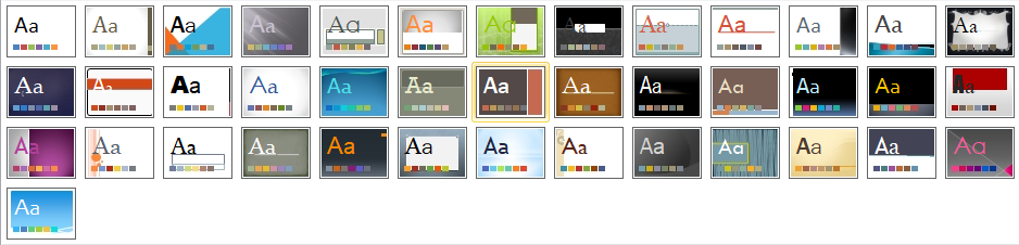 Theme trong PowerPoint